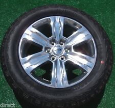 New 2015 OEM Factory Ford F150 PLATINUM Polished 20 inch WHEELS TIRES Expedition