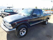 Chevrolet: S-10 Ext Cab 123""