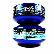 X 2 WILKINSON SWORD  SOAP AND DISH COMBINATION..FOR CUT THROAT RAZOR SHAVING
