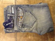 J And Company Para Mujer Boot Cut Blue Jeans 27' 34l