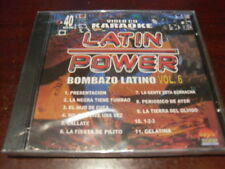 LATIN POWER KARAOKE VCD DVD VCLP-040 BOMBAZO LATINO VOL 6 SEALED