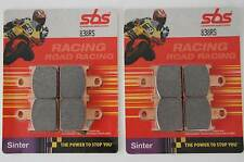 SBS 838 RS Bremsbeläge Racing Sinter Kawasaki ZX-10 vorn racing brake pad