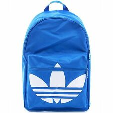 ADIDAS BACKPACK CLASSIC TREFOIL Blue-White daypack college school sports new