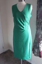size 22 stunning green body con dress marks and spencer brand new