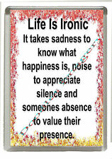 Profound Thoughts Fridge Magnet Jumbo 90mm x 60mm Size