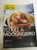 GCSE ENGLISH TO KILL A MOCKINGBIRD YORK NOTES HARPER LEE BETH LEE