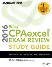 Wiley CPAexcel Exam Review, January 2016 [9781119122685] New Paperback Book
