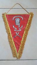 Un fanion militaire troupes de marine 1er esc/ricm Bouar 94 militaria.