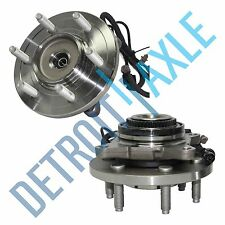2 New FRONT Navigator Expedition 2007-2012 Wheel Hub And Bearing - w/ ABS - 4x4
