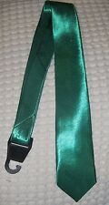 """Solid Green MJ Marijuana Weed Unisex Men's Tie Necktie 57"""" Lx3"""" W-New in Sleeve"""