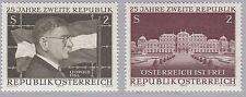 Österreich 1322 -. 25 Jahre Zweite Republik Figl, Schloss Belvedere 1970 postfr.