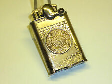 "Vulcano Solid Silver Lighter W. ISLAMIC COINS - ""Kickstarter"" - ww2-East Africa"