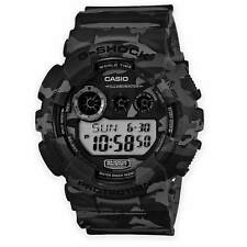 Casio Mens G-Shock GD-120CM-8ER Military Tactical Digital Watch Grey Camo NEW