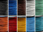 5M Real Leather Round Rope String Cord Necklace Finding Craft 1.5/2.0 mm 15Color