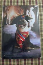 Pup Soldier Tin Metal Sign Painted Poster Club Book Wall Art Office Shop Hobby