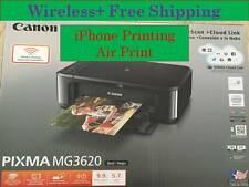 Canon MG3620 (922) photo Printer-scanner-Copier-wireless-Duplex Ptinting-home