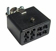 DC Power Plug - 8 pin Jones Plug - Used on many Henry Solid State Amplifiers