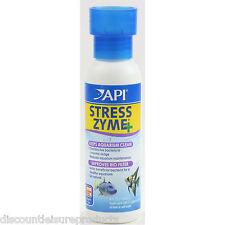 API Stress Zyme Live Bacteria Filter Aquarium Fish Tank Treatment 118ml