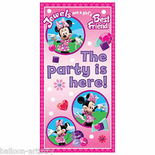 "65"" Disney Minnie Mouse Pink Door Poster Decoration"