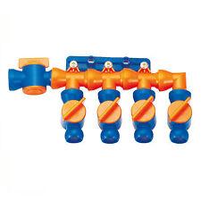 """1/2"""" Kühlmittelschlauch Glenkschlauch, Modular Verteiler 1/2"""" mit Ventil"""