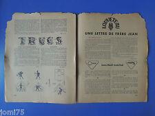 Rare SCOUT N° 141 NOVEMBRE 1939 - REVUE DES SCOUTS DE FRANCE - SCOUTISME