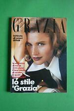 MAGAZINE GRAZIA N. 2646 1991 GLENN CLOSE MINA