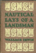 Peter Newell, Irwin Wallace, NAUTICAL LAYS OF A LANDSMAN, 1904, 1st Ed
