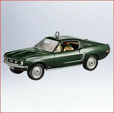 2011 Hallmark Ornament 1968 FORD MUSTANG GT Classic American Cars #21 *Priority
