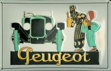 Peugeot Automobile Blechschild Schild Blech Metall Metal Tin Sign 20 x 30 cm