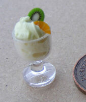 1:12 Scale Lemon Mousse Dolls House Miniature Kitchen Food Dessert Accessory M1