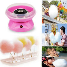 ELECTRIC CANDYFLOSS MAKING MACHINE HOME COTTON SUGAR CANDY FLOSS MAKER Pink