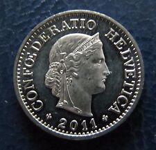 """Münze 10 Rappen Schweizer Franken 2011 """"B"""" aus Umlauf gültiges Zahlungsmittel"""