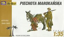MOROCCAN /FRENCH/ INAFNTRY WITH DONKEY 1940-43 1/35 SK/HELLER