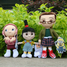 3 Pcs Despicable Me 2 Plush Toy Margo & Edith & Agnes Cute Stuffed Animal Doll