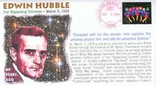 COVERSCAPE computer designed 80th anniversary Hubble galaxies photo event cover