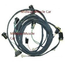 rear body tail light wiring harness 69 Pontiac GTO 1969 coupe judge ram air