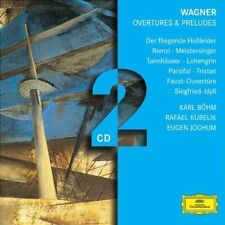 WAGNER: OVERTURES & PRELUDES [2 discs] New CD
