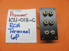 PIONEER K21-013-C  6P RCA TERMINAL SA-500 STEREO INTEGRATED AMPLIFIER
