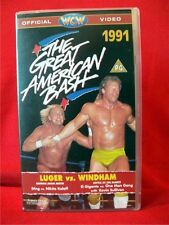 WCW THE GREAT AMERICAN BASH 1991 [VHS] Wrestling Video