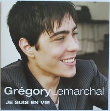"GREGORY LEMARCHAL - CD SINGLE PROMO ""JE SUIS EN VIE"""