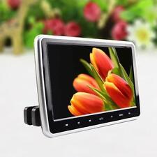 10.1 Pulgadas Hd Pantalla TFT LCD coche reposacabezas Monitor Hdmi Dvd/USB/SD Jugador Dc 12v