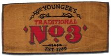 WM.YOUNGER'S TRADITIONAL No.3  Pub Beer BAR TOWEL