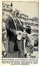 Vieille Adler: frères wright sont à Dayton avec honneur citoyens médaille Honoré 1912