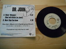 "7"" Pop Dr. John / Ricky Lee Jones - Makin' Whoopee! (Promo Disc) WARNER BROS"