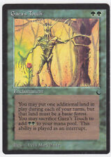 Gaea's Touch (EX/NM) The Dark 1x Enchantment x1 WOTC MTG Nate's Magic Cards!