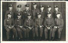 Ansichtskarte Gruppenfoto - Soldatengruppe 2. Weltkrieg in Uniform - Fotokarte