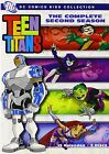 TEEN TITANS - COMPLETE SEASON 2 - DVD - UK Compatible - New & sealed