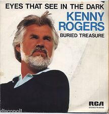 """KENNY ROGERS - Eyes that see in the dark - VINYL 7"""" 45 ITALY 1983 NEAR MINT /VG+"""