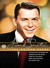 Frank Sinatra: The Golden Years (DVD, 2008, 5-Disc Set, Slipcase)FACTORY SEALED