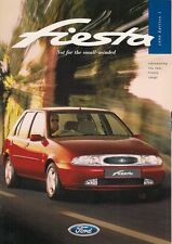 Ford Fiesta Mk4 1996 UK Market Sales Brochure Ghia Si LX Encore